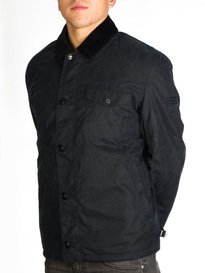 Barbour Steve McQueen Deck Wax Jacket Navy