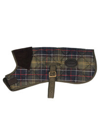 Barbour Tartan Dog Coat Green