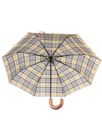 Barbour  Telescopic Umbrella Green