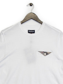 Barbour Walshaw Pocket T-Shirt White