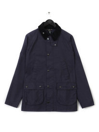 BARBOUR WASHED BEDALE NAVY