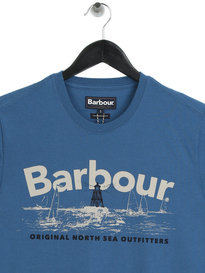 Barbour Waterline T-Shirt Blue