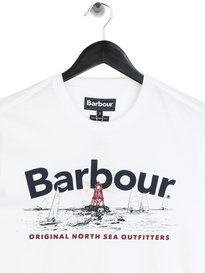 Barbour Waterline T-Shirt White