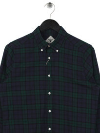 Barbour Beacon Aycroft Shirt Green