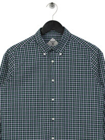 Barbour Beacon Dawson Shirt Forest Green