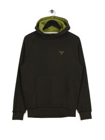 Barbour Beacon Edale Hoodie Green
