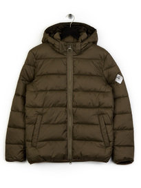 Barbour Beacon Hike Quilted Jacket Green