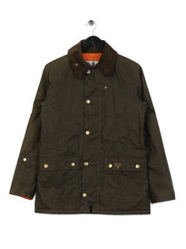 Barbour Beacon Lingmell Wax Jacket Olive Green