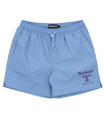 Barbour Beacon Logo Swimshorts Blue