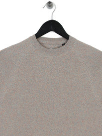 Barbour Beacon Mix Knit Smoke Grey