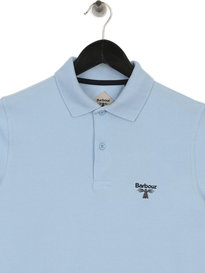 Barbour Beacon Polo Shirt Blue