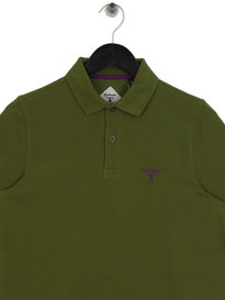 Barbour Beacon Polo Shirt Green