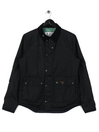 Barbour Beacon Stybarrow Wax Jacket Navy