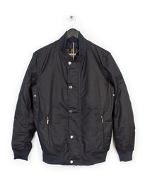 BARBOUR SMQ WAX BEECH JACKET NAVY