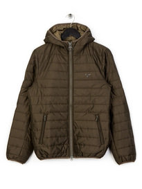 Barbour Beacon Birkhouse Quilt Olive