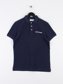 Best Company Logo Polo Shirt Navy