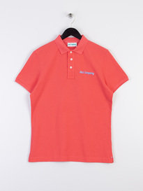 Best Company Logo Polo Shirt Pink