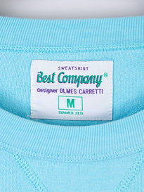 Best Company Logo Sweat 413 Sky Blue