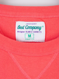 Best Company Logo Sweat 718 Pink