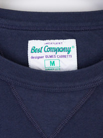 Best Company Logo Sweat 800 Navy
