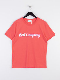 Best Company Logo T-Shirt Pink