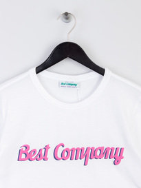 Best Company Logo T-Shirt White