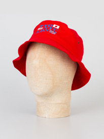 BILLIONAIRE BOYS CLUB ALLIANCE BUCKET HAT RED