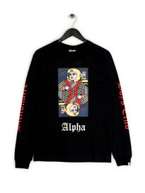 Billionaire Boys Club Alpha Omega LS T-Shirt Black