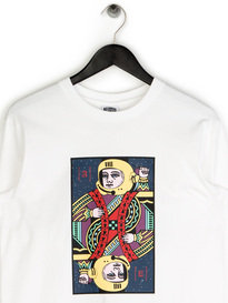 Billionaire Boys Club Alpha Omega LS T-Shirt White