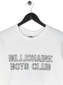 Billionaire Boys Club A/V LS T-Shirt White