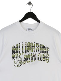 Billionaire Boys Club Camo Arch Short Sleeve T-Shirt White