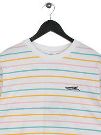 Billionaire Boys Club Candy Stripe Long Sleeve T-Shirt White