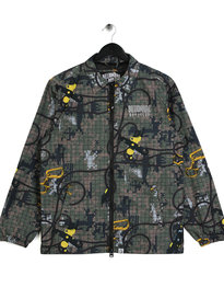 Billionaire Boys Club Climbing Camo Zip Jacket Green
