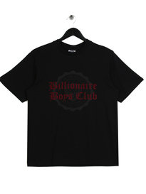 Billionaire Boys Club College Flock Print T-Shirt Black