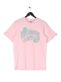 Billionaire Boys Club Damaged Logo T-Shirt Pink