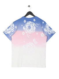 Billionaire Boys Club Dip Dye Arch Logo T-Shirt Blue