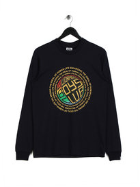 Billionaire Boys Club Enlarging The Ideal Long Sleeve T-Shirt Navy