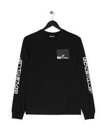 Billionaire Boys Club Eva 1 Long Sleeve Logo T-Shirt Black