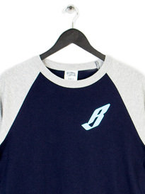 BILLIONAIRE BOYS CLUB FLYING B RAGLAN TEE NAVY