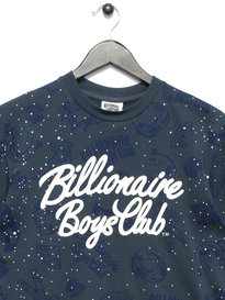 Billionaire Boys Club Galaxy AOP T-Shirt Blue