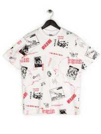 Billionaire Boys Club Headline Print T-Shirt White