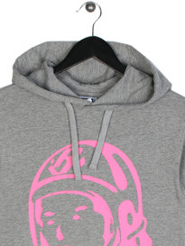 Billionaire Boys Club Helmet Long Sleeve Hooded T-Shirt Grey