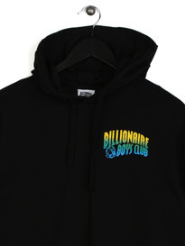 Billionaire Boys Club Helmet Print Hooded Long Sleeve T-Shirt Black