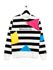 Billionaire Boys Club Jumble Crewneck Sweat White