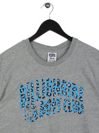 Billionaire Boys Club Leopard Arch Logo T-Shirt Grey