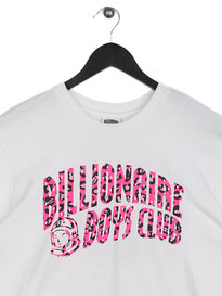 Billionaire Boys Club Leopard Arch Logo T-Shirt White