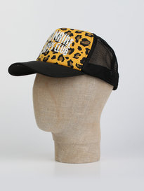 Billionaire Boys Club Leopard Trucker Cap Yellow
