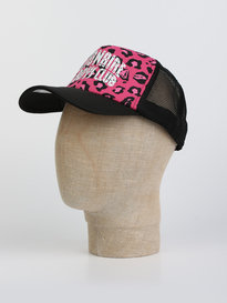 Billionaire Boys Club Leopard Trucker Cap Pink
