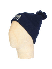 Billionaire Boys Club Logo Ribbed Knitted Beanie Navy