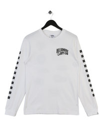 Billionaire Boys Club Mechanics Long Sleeve T-Shirt White